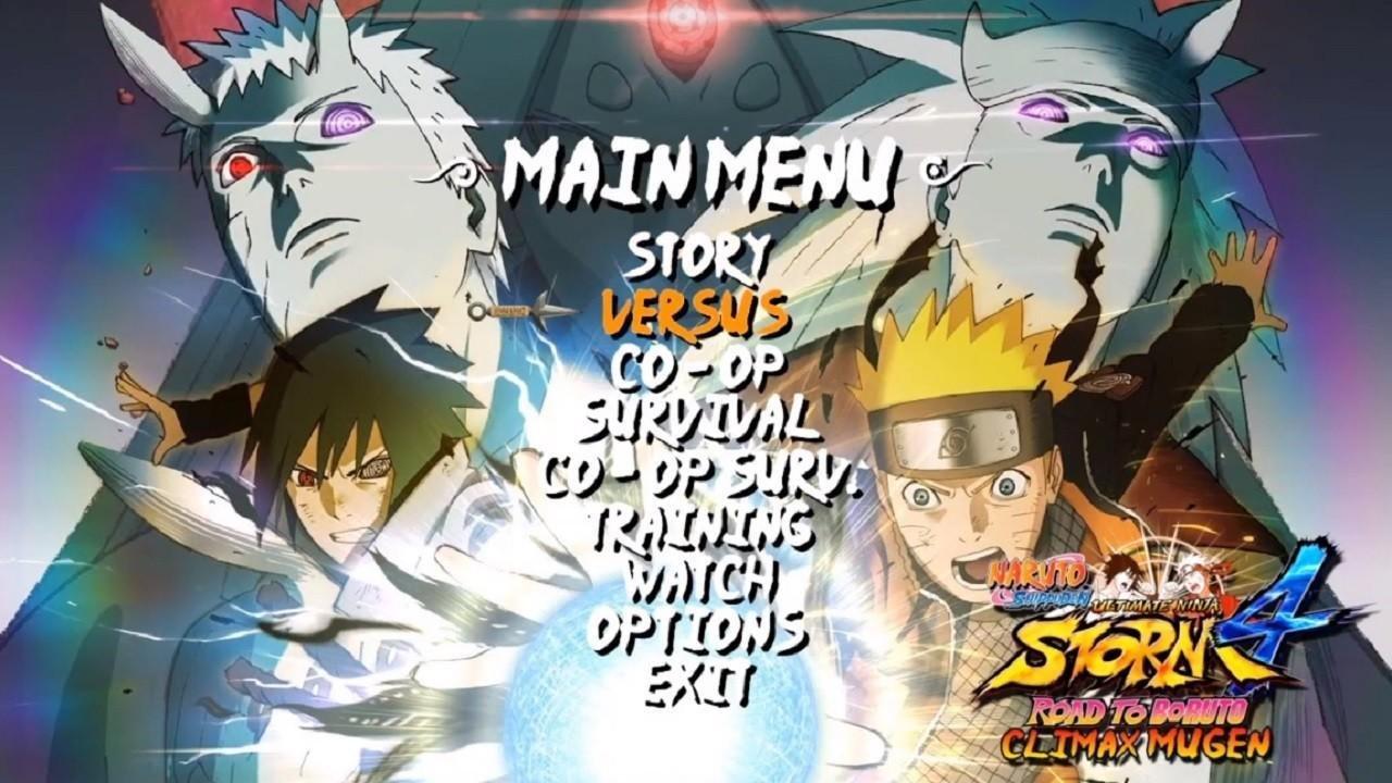 Naruto Storm 4: Climax Mugen 2020